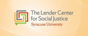 The Lender Center for Social Justice logo
