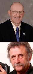 Richard Slutzky and Herman Card