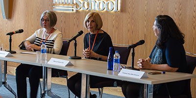 Marcia Baldanza, Jeri Muoio, and Amy Ellen Schwartz