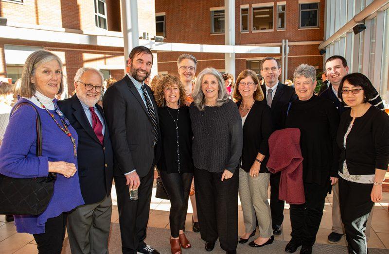 Professor Emerita Marlene Blumin, friends, and family at the 2018 One University Awards