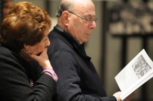 Alan and Dottie Goldberg at the Holocaust Museum Houston