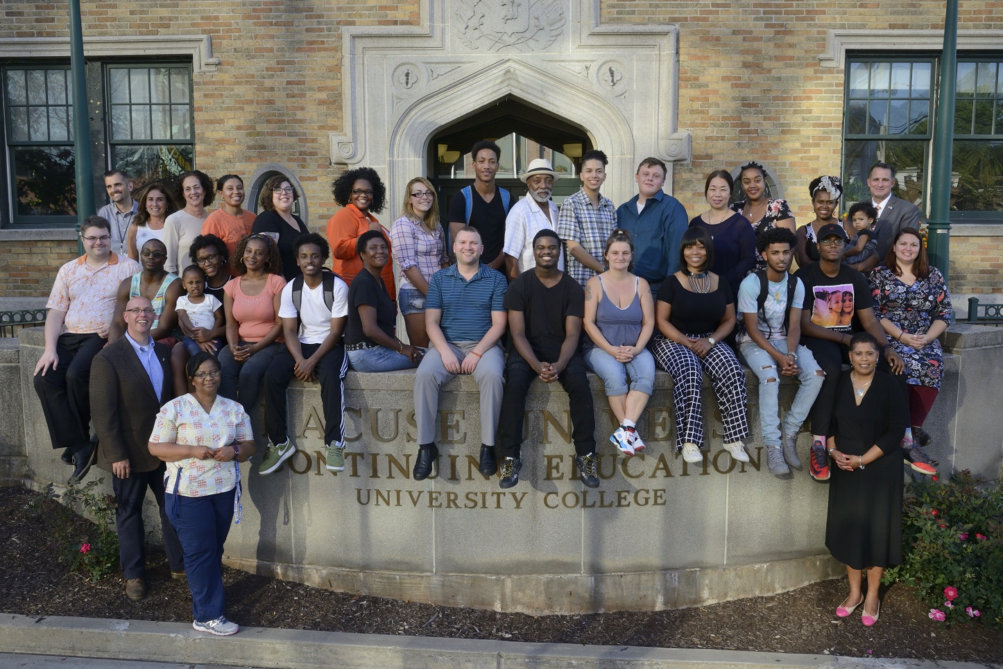 University College H E O P students and staff