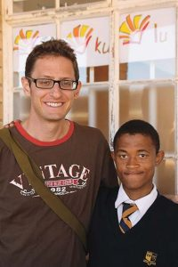 Students studying abroad in south africa