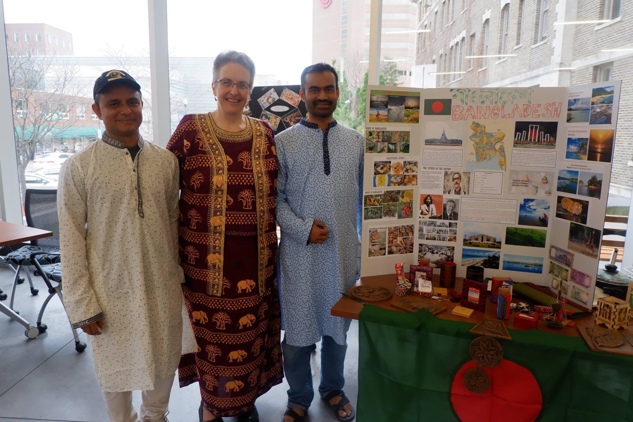 Dean Masingila with Fulbright DAI scholars