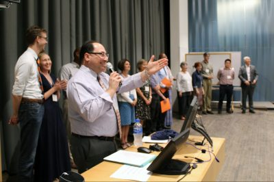 group of faculty at syracuse welcome