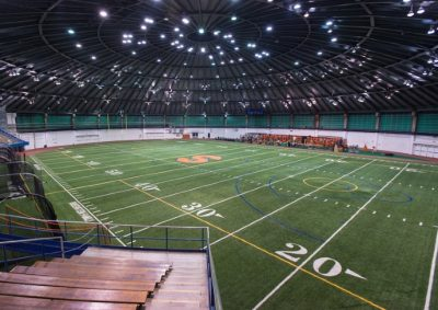 Manley field house interior