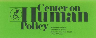 Center on Human Policy