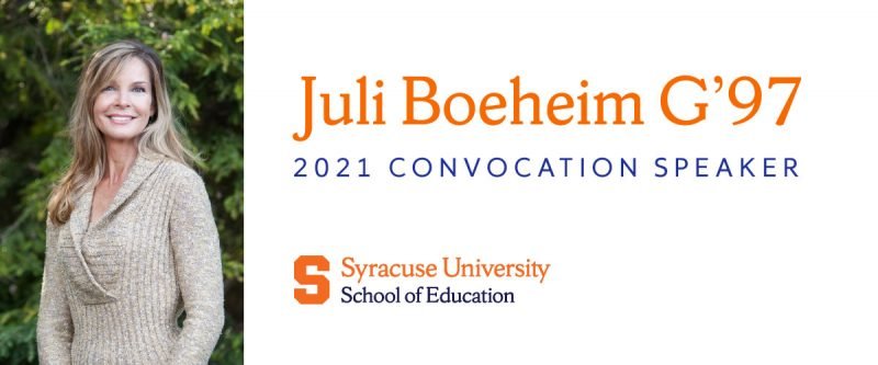 juli boeheim g'97 2021 convocation speaker