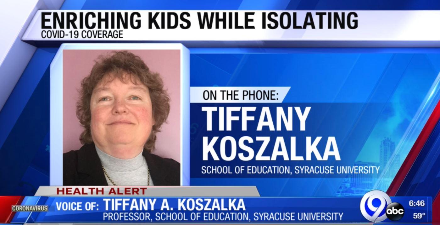 Tiffany Kozalka on News Channel 9