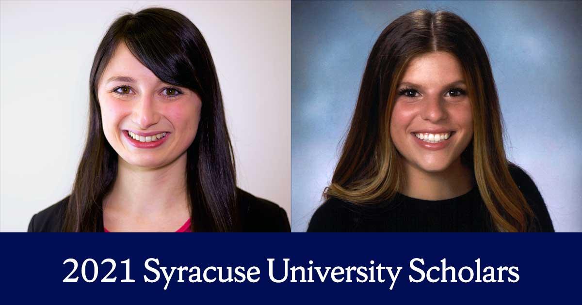 2021 Syracuse University Scholar